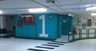 Pintura y recubrimientos de parkings Barcelona