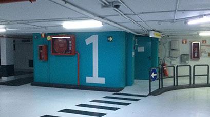 Pintura y impermeabilizaciones de parkings Barcelona