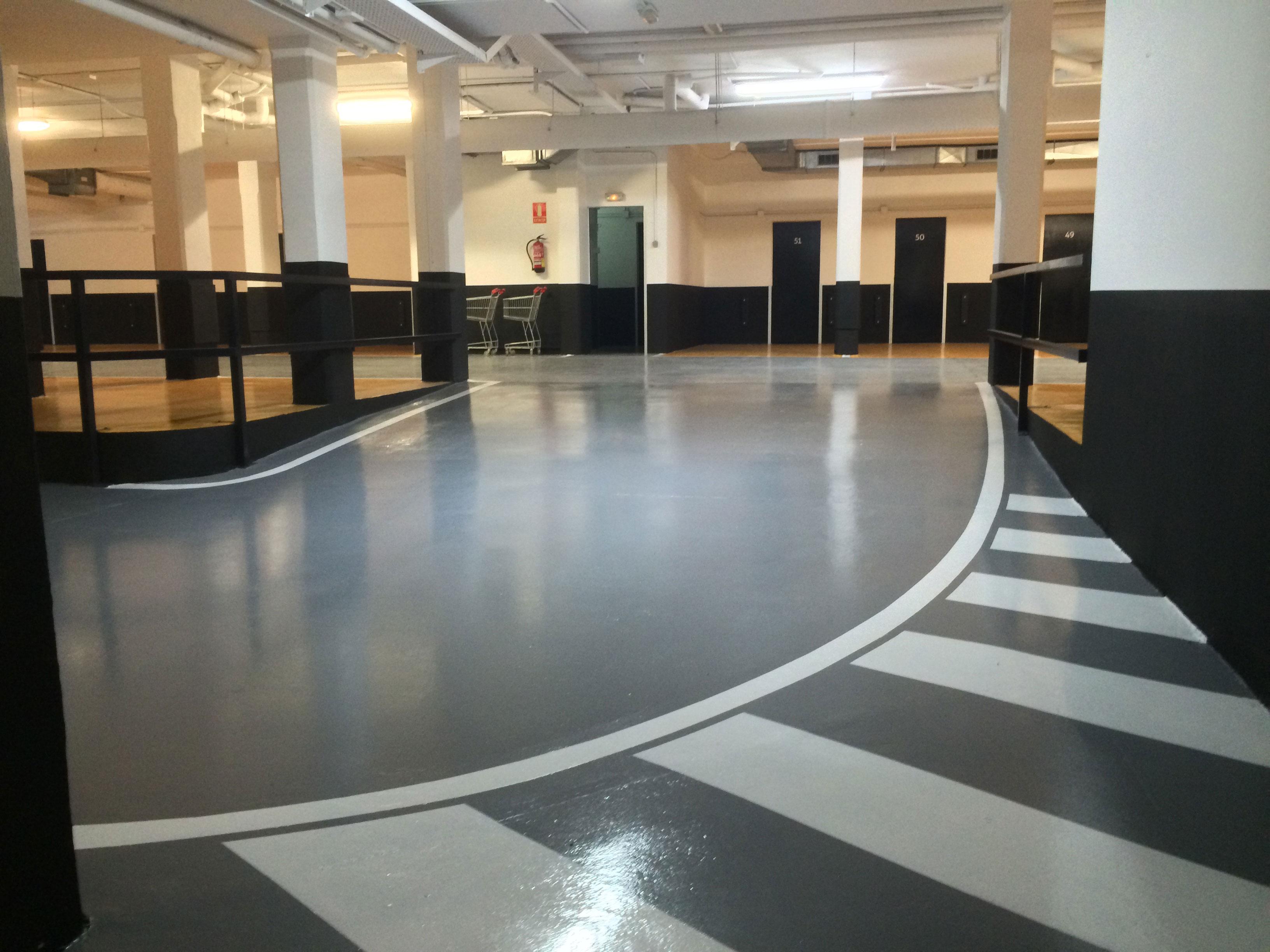 Rehabilitación suelo pavimento parkings
