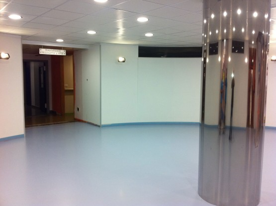 Pavimentación suelo hospitales