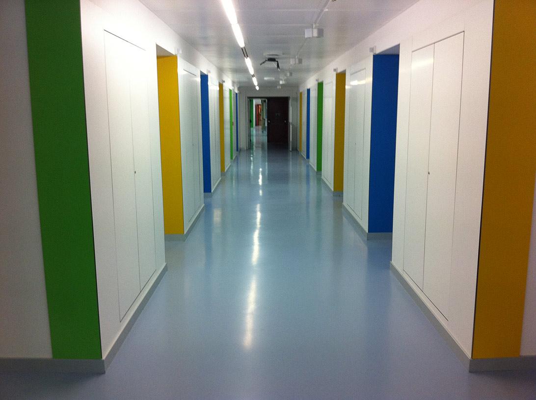 Empresa pintura industrial hospitales