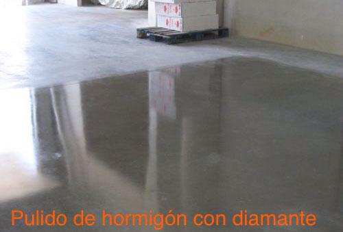 Pavimentos de hormigón pulidos con diamante