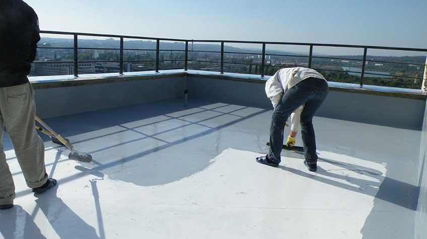 Impermeabilización de terrazas y pavimentos