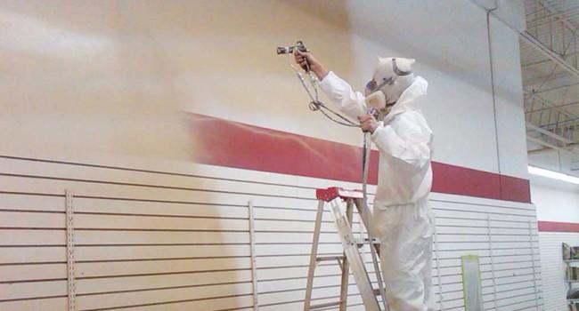Aplicación de pinturas industriales para empresas