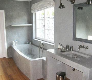 Microcemento y resinas para lavabos