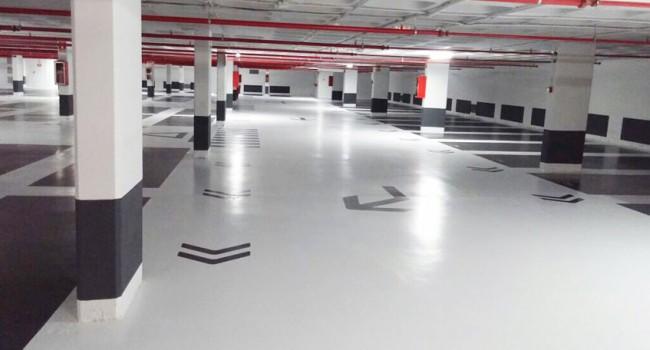 Impermeabilización y pintura de parkings en Barcelona
