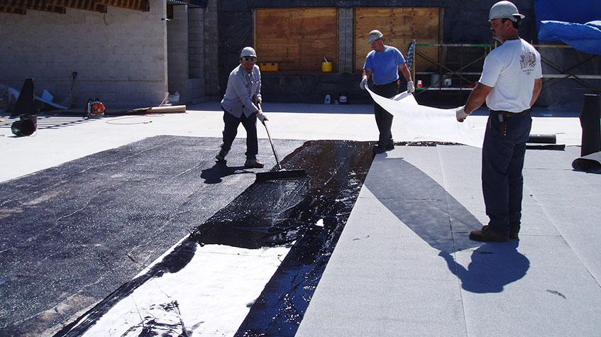 Impermeabilización de pavimentos, tejados y cubiertas