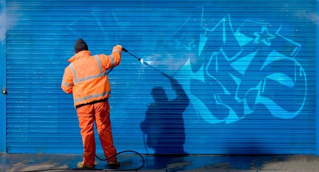 Empresa de limpieza de graffitis en Barcelona