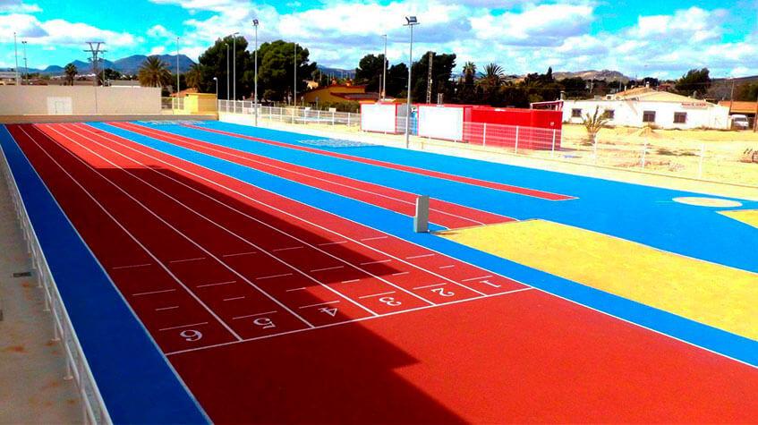 Pavimentación de suelos deportivos en Barcelona