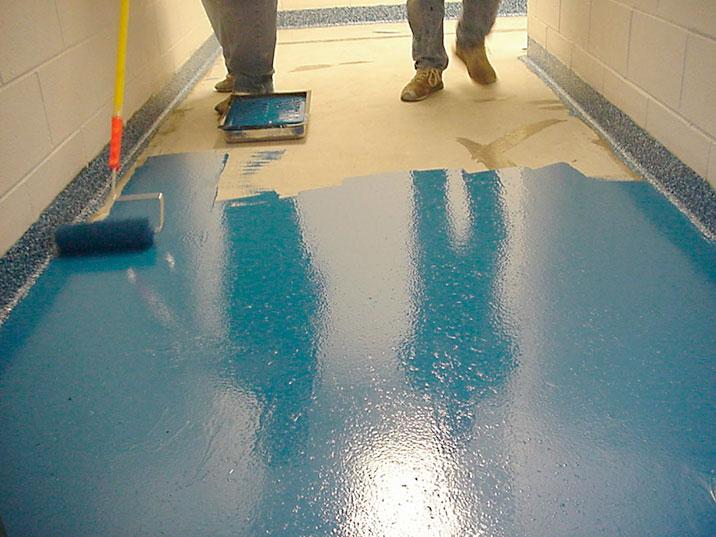 Pintura de suelos y pavimentos industriales