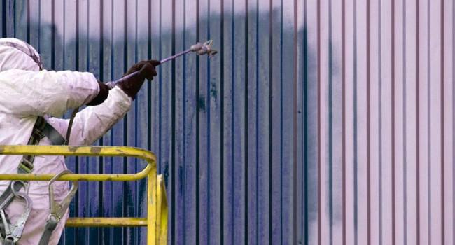 Aplicación pintura industrial Barcelona