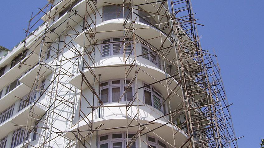 Rehabilitación de edificios y parkings