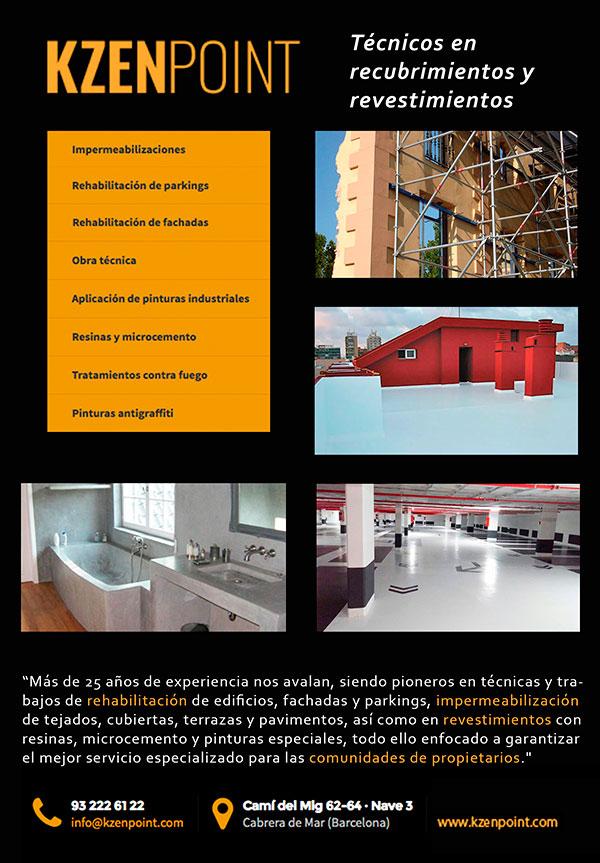 Servicios de rehabilitación de edificios