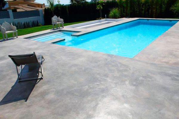 Revestimientos y recubrimientos trc paint for Cemento pulido exterior
