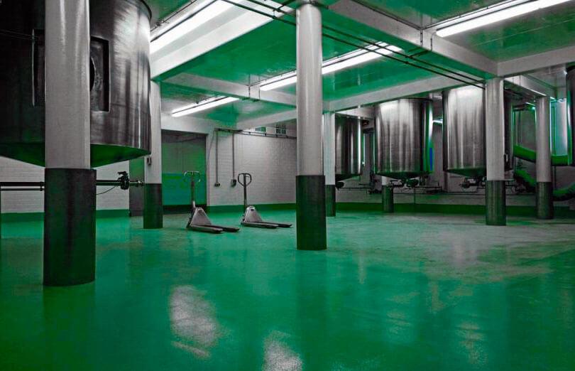 Pavimentación industrial farmacéutica