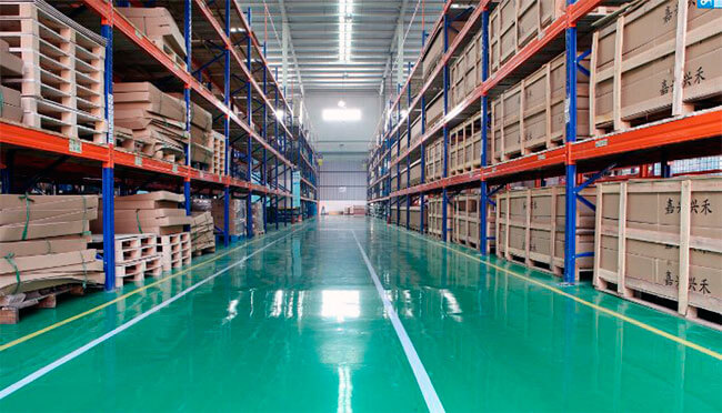 Revestimiento industrial fábrica