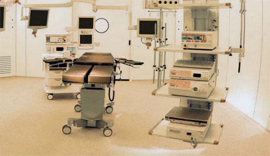 Pavimentos multicapa hospitales