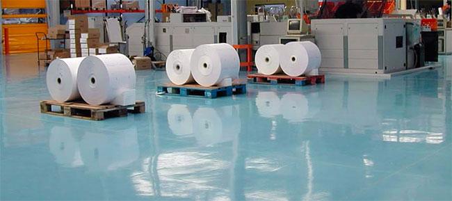 Pavimentos industriales de resina epoxi