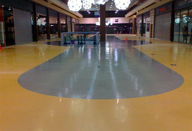 Pavimentos centros comerciales