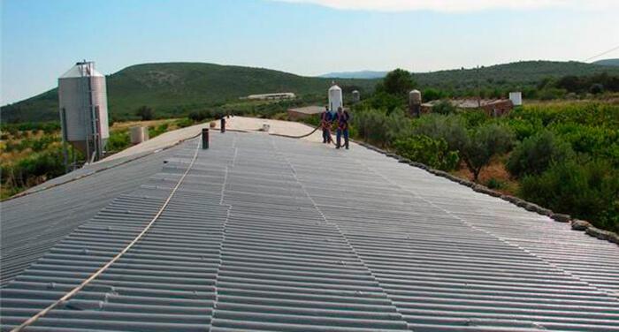 tratamiento de impermeabilización de tejados