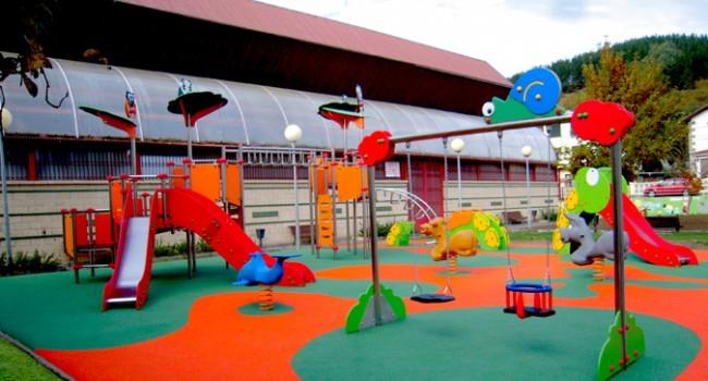 Parque infantil protegido