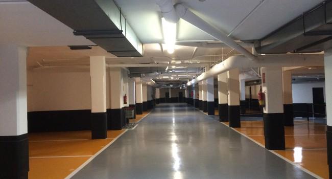 renovar los suelos de aparcamientos y garajes