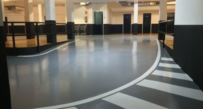 rehabilitar suelos de parkings y garajes en Barcelona