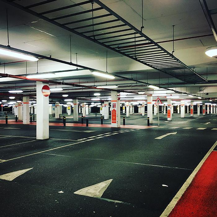 Características de un servicio rehabilitación de parking