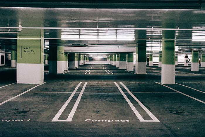 tratamiento del suelo para el parking