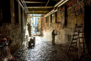 eliminación de graffitis