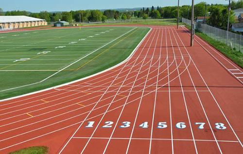 Características principales de una pista de atletismo