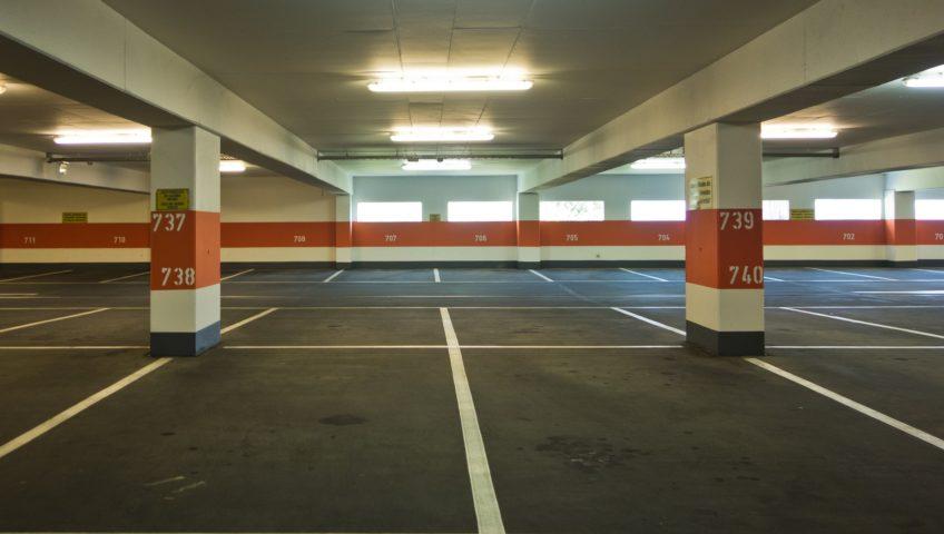 como reparar el suelo del parking