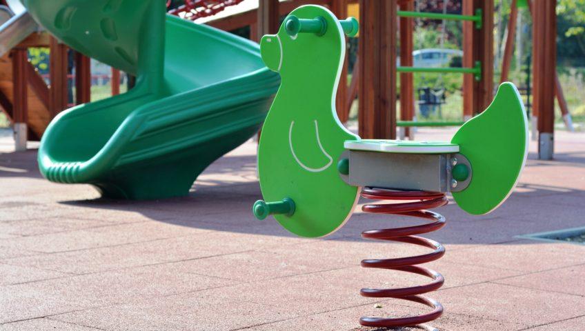 pavimentación de parques infantiles en Barcelona