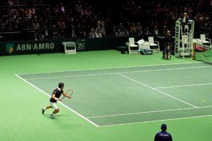 pista de tennis hecha por fabricantes de suelos de deporte en Barcelona